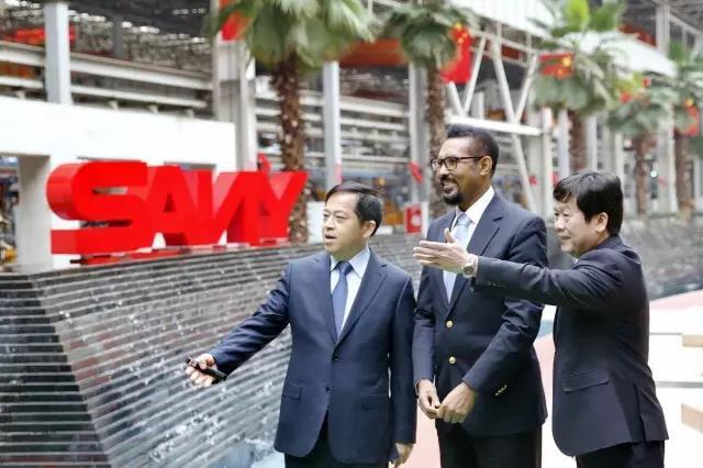 埃塞俄比亚总理顾问到访 期待三一深耕埃塞市场