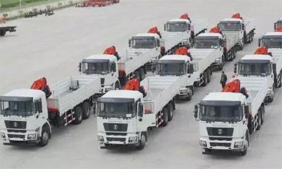 三一帕尔菲格合作陕汽  18台整车订单成功交付