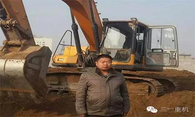 """7台三一挖掘机 张学民借""""机""""不断追逐梦想"""