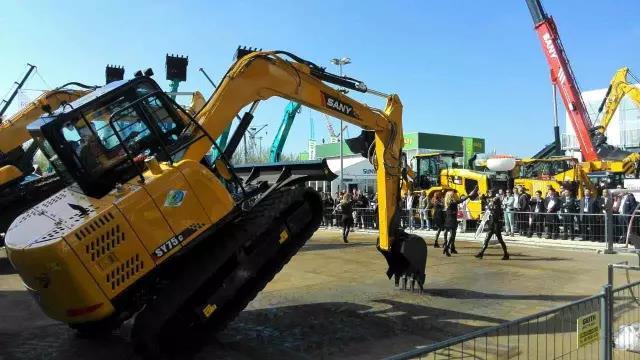 三一挖掘机全面进军欧洲市场
