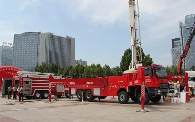 三一消防车亮相中国消防博览会 填补***白引关注