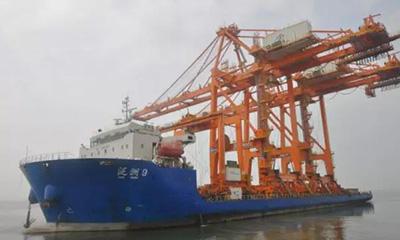 三一岸桥登陆沙特香港港口