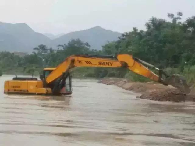 南方各省灾情严重 三一重工跨省联动大救援