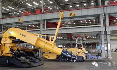 三一STR系列工程掘进机 颜值与实力并存