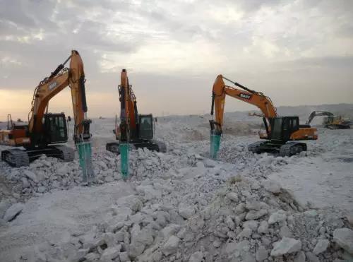 沙漠中的土豪国度,看看卡塔尔的这些三一机械
