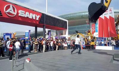 亚欧博览会开展首日,三一销售百万煤机