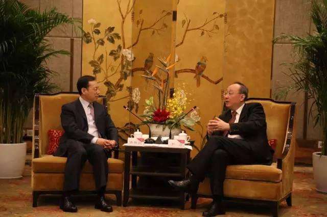 落实80亿元吹风项目 四川省省长尹力会见三一集团总裁唐修国