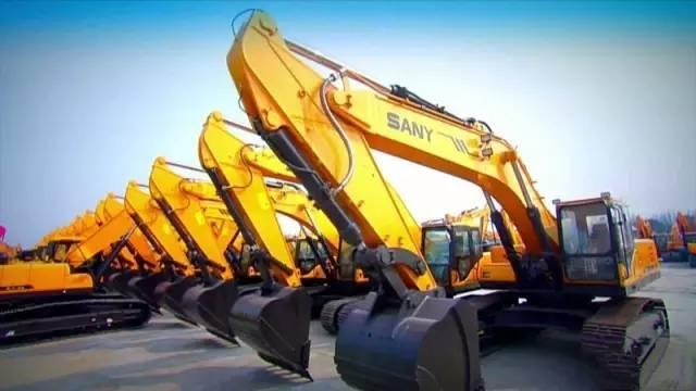 三一挖掘机卖断货 工程机械行业拐点已现