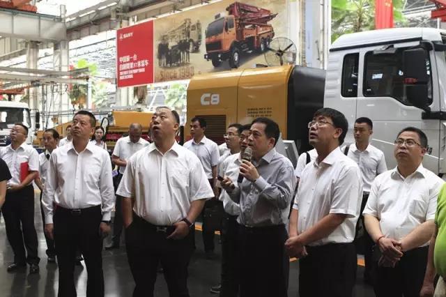 云南瑞丽市委书记马云峰考察三一 推动企业寻求战略合作