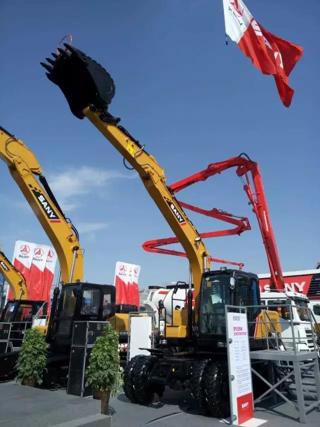 出击欧亚博览会,三一首推农机产品成焦点