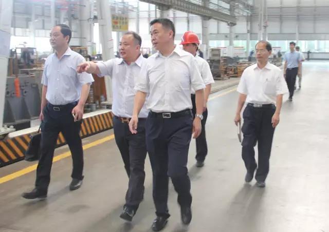 涟源市长称三一是工业发展的名片
