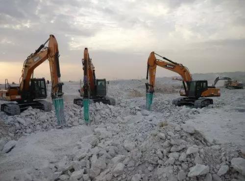 沙漠土豪卡塔尔建超大蓄水池 三一设备帮大忙