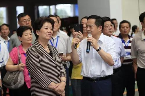 原全国人大副委员长陈至立 鼓励三一保持信心持续发展