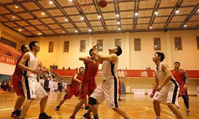 长沙经开区第三届职工运动会篮球赛开赛,为三一健儿呐喊助威!