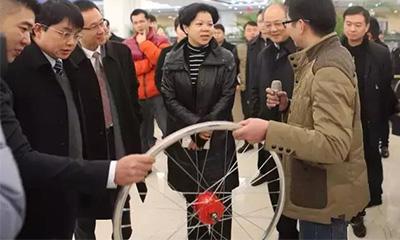 长沙市副市长张迎春肯定三一孵化器特色鲜明 成效高