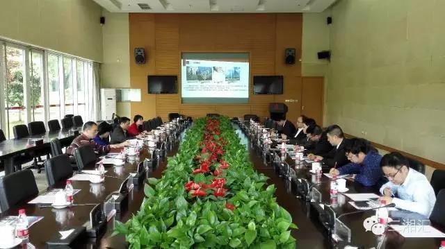 新华社湖南分社副社长张春保一行考察三一众创孵化器