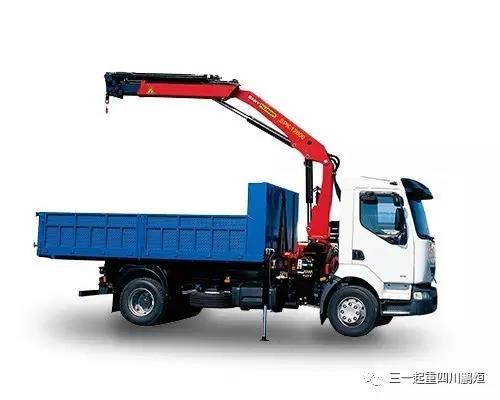 11.6吨米折臂随车吊 随车起重机SPK12000