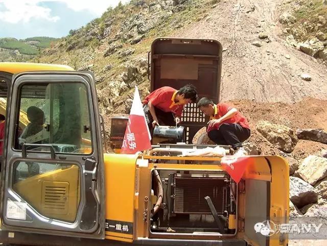 挖掘机(钩机、挖机、挖土机)日常维修保养