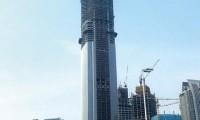 三一设备助力广州第一高楼 垂直泵送已突破500米