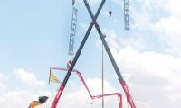南非机械展 销售设备5台
