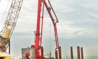 57台ca88亚洲城娱乐重工设备筑港珠澳大桥 沉管隧道破千米大关