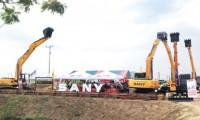 三一亚太大区挖机销售不断取得突破
