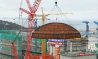 三一千吨履带吊完成第14个核岛穹顶吊装