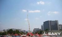 三一消防车亮相中国消防博览会 填补国内空白引关注