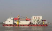 """中国最先进混凝土搅拌船""""豪舟砼1""""交付客户 三一在海工装备领域再获重大突破"""