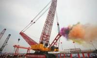 """""""全球第一吊""""——三一重工SCC86000TM(3600吨)履带起重机下线"""