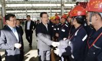 张高丽视察西北产业园 鼓励三一把握机遇,抢占西部市场