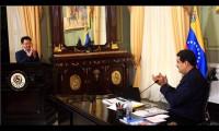 委内瑞拉总统马杜罗会晤中国企业代表团