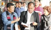 印尼青年代表团到三一参观学习