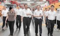 海关总署党组成员、国家口岸办主任黄胜强考察三一 海关总署将全力支持三一国际化