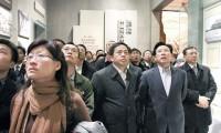 三一集团全体高管参观《复兴之路》展览 梁稳根要求:牢记产业报国使命