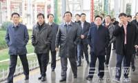 中信集团高管参观三一临港产业园 希望双方开展多方位合作
