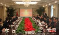 墨西哥驻华大使及萨拉戈萨-科阿韦拉州州长率团访问三一
