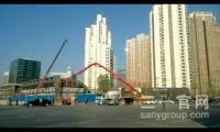三一C8泵车献力北京地铁建设 节能产品让北京天更蓝