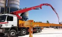 参建多项国家重点工程 三一C8泵车成技术领跑者