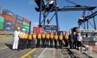 三一两台岸桥正式交付和黄 成就全球战略合作典范