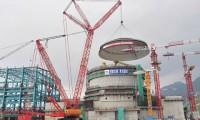 三一1600吨履带吊成功吊装第三代核电核岛穹顶