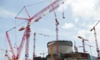 台山核电站 三一1600吨级履带起重机*吊成功