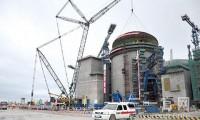 第19次吊装核岛穹顶 三一履带吊是国内唯一能参建核电站的大型特种设备