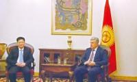吉尔吉斯共和国副总理会见三一西北董事长李建华