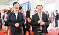 住建部关注三一PC装备创新成果 副部长齐骥、王宁相继视察住博会三一展台