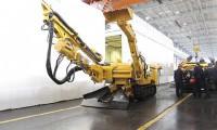 三一重装成功研制世界*台窄巷钻装机 实现钻、装、运一体化