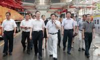理想信念教育实践活动领导小组调研三一:三一是装备制造领域实现中国梦的一面旗帜