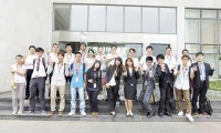 11名台湾大学生来三一实习 期望留在大陆工作