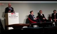 三一重工董事长梁稳根出席中英工商峰会 分享创新之道