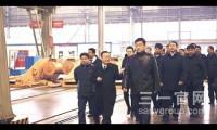 """辽宁省委常委、沈阳市委书记曾维 鼓励三一国际""""两手抓"""""""